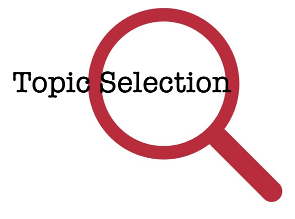 research topic selection